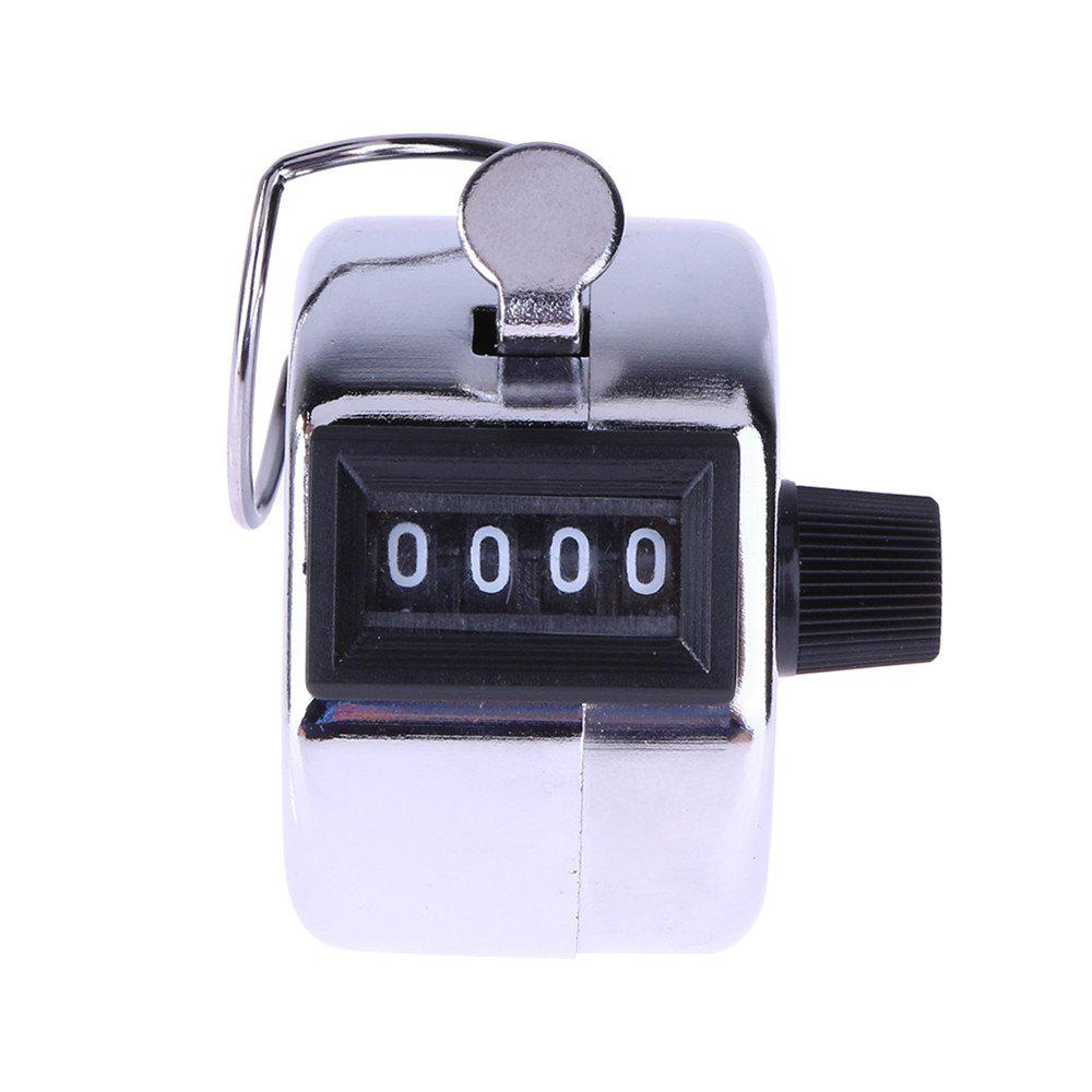 Mini Mechanical Metal Manual 4-DIGIT Counter