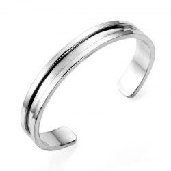 A Couple Alloy Open Bracelet -