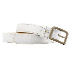 Fashion Simple Casual Side Buckle Belt -