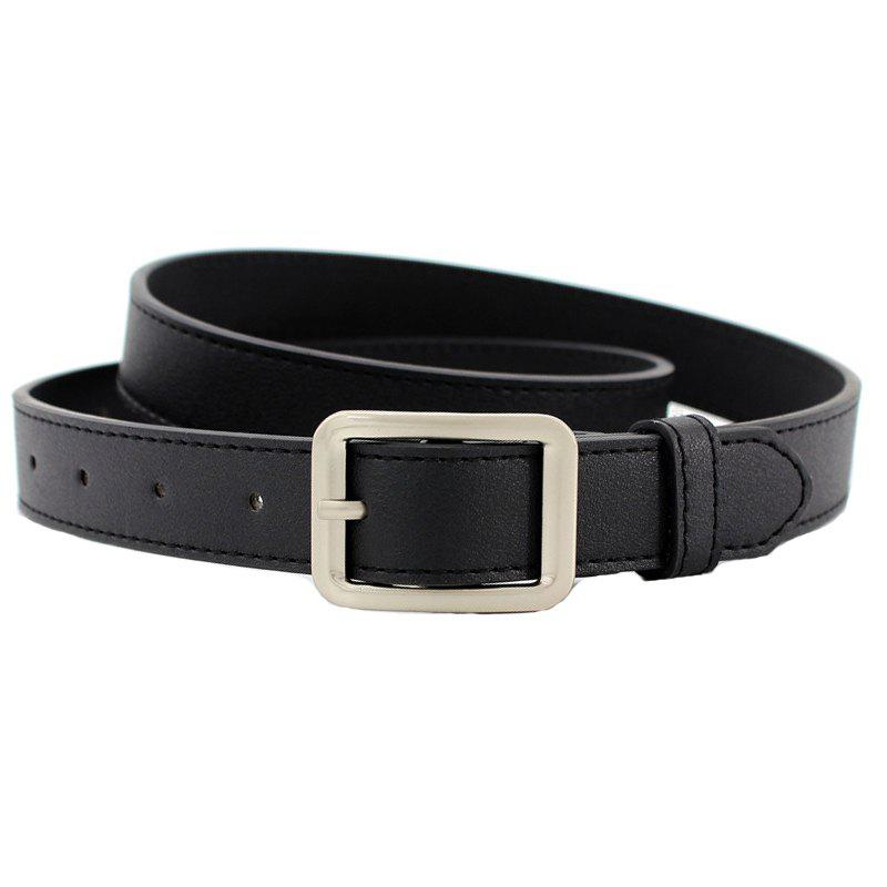 Outfits Fashion Simple Casual Side Buckle Belt