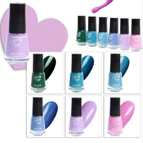 Outfit Sexy New Color Chart Soak Off Nail Gel Polish 6pcs