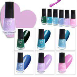 Sexy New Color Chart Soak Off Nail Gel Polish 6pcs -