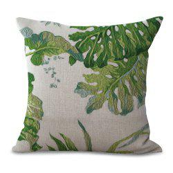 Fresh and Simple Printed Cotton Sofa Pillow Cover -