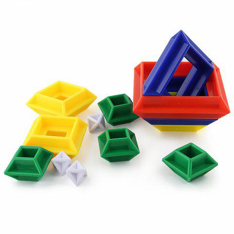 New Creative Changeable Puzzle Rubik Building Block Toy