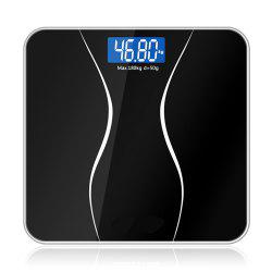 Bathroom Glass Smart Household Electronic Floor Scales LCD -