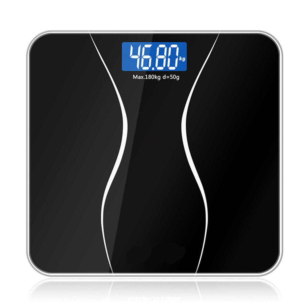 Chic Bathroom Glass Smart Household Electronic Floor Scales LCD