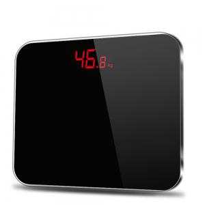 Bathroom Body Scales Electronic Digital  Toughened Glass LED -