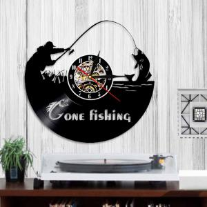 Vinyl Wall Clock Home Decal Room Decor Birthday Present -