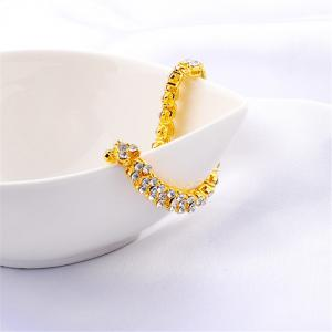 Beautiful and Exquisite Diamond Set Simple Fashion Crystal Bracelet -