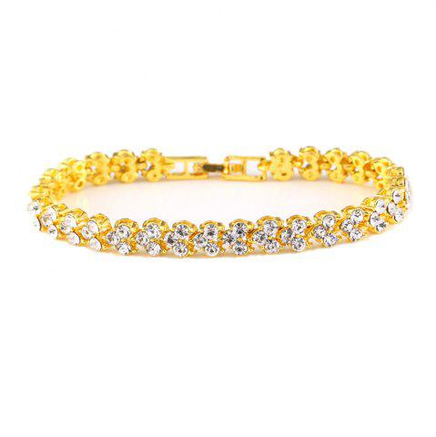 Unique Beautiful and Exquisite Diamond Set Simple Fashion Crystal Bracelet