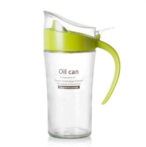 Chic Large-Capacity Glass Leakproof Oil Can