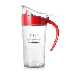 Large-Capacity Glass Leakproof Oil Can -