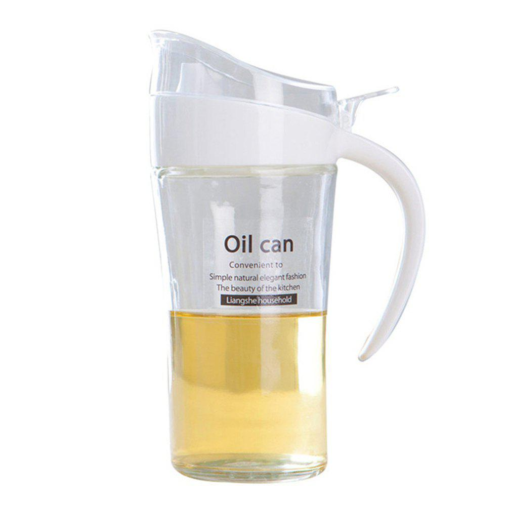 Affordable Large-Capacity Glass Leakproof Oil Can