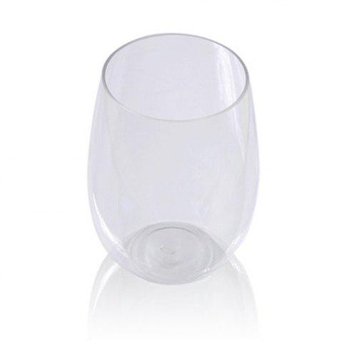 Transparent Glass Red Wine Cup