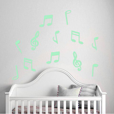 Affordable Luminous Cartoon Switch Sticker Glow Note Dark Room Decoration Home Decor
