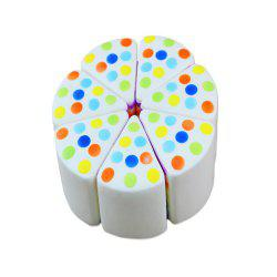 Nouveau Jumbo Squishy Triangle Round Cake 1PC -