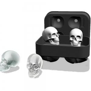The Silicone Four Skeletal Ice Mold -