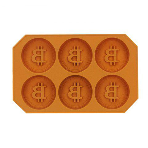 Shop The Silicone Coin Form Ice DIY Baking Chocolate Cake Mold