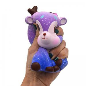 Jumbo Squishy Cream Scented Sika Deer Slow Rising Toy -