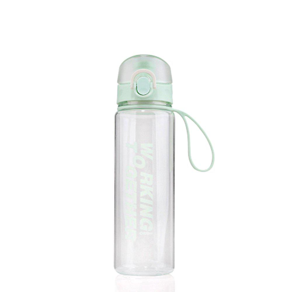Affordable Creative Convenience Jump Cover Transparent Leakproof Snap Button Plastic Cup