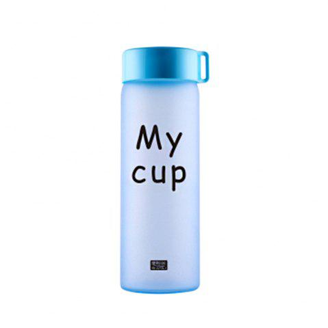 Fashion Temperature Discoloration Frosted Portable Glass Cup