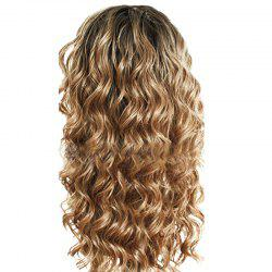 Chemical Fiber Front Lace Long Curly Hair -