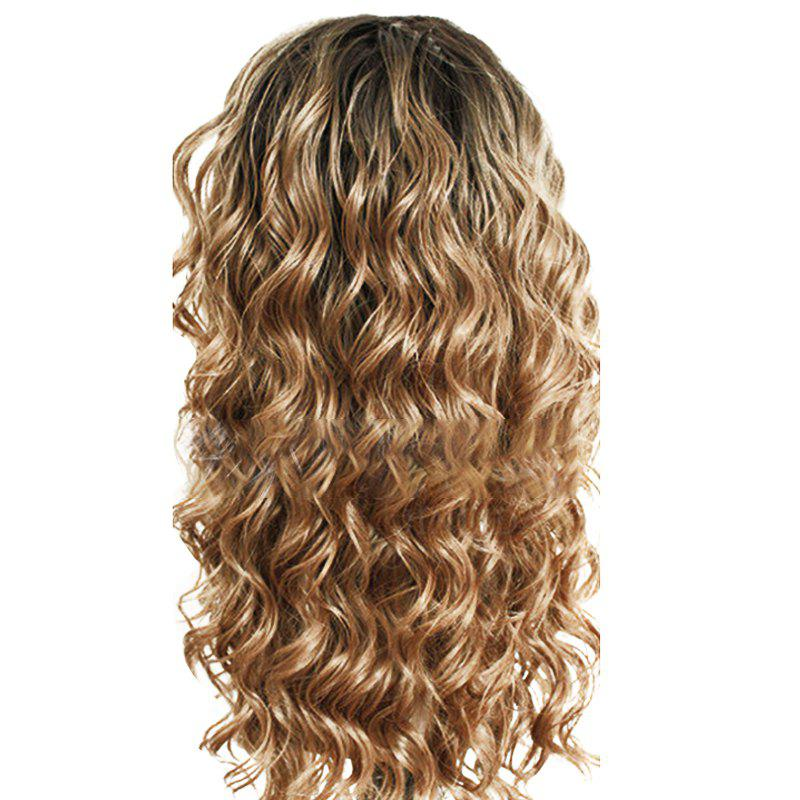 New Chemical Fiber Front Lace Long Curly Hair