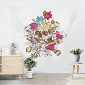 Rose Skeleton Personality Decoration Background Tapestry GT-29 -