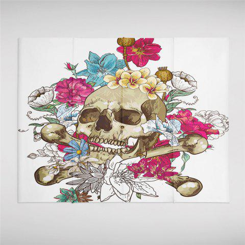 Hot Rose Skeleton Personality Decoration Background Tapestry GT-29