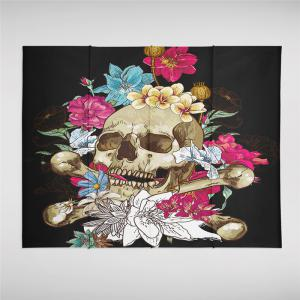 Indian Series of Flame Skeleton Pattern Personalized Decoration Tapestry GT-29-1 -