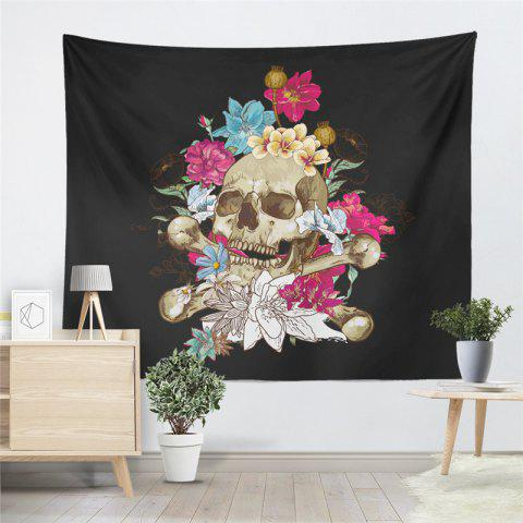 Fashion Indian Series of Flame Skeleton Pattern Personalized Decoration Tapestry GT-29-1