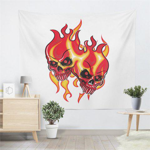 New Indian Series of Flame Skeleton Pattern Personalized Decoration  Tapestry