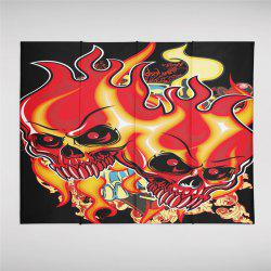 Indian Series  Flame Skeleton Pattern Personalized Decoration Tapestry  GT-33-1 -