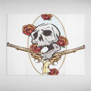 Rose Skeleton Personality Decoration Background Tapestry GT-36 -