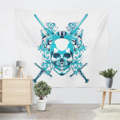 Cheap Skeleton Pattern  Personality The Decoration Tapestry GT-40