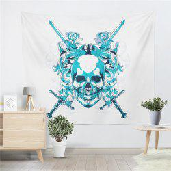 Skeleton Pattern  Personality The Decoration Tapestry GT-40 -