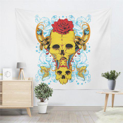 Store Rose Skeleton Personality Decoration Background Tapestry GT-42