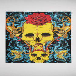 Rose Skeleton Personality Decoration Background Tapestry GT-42-1 -