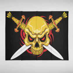 Indian Series of Flame Skeleton Pattern Personalized Decoration Tapestry GT-44-1 -