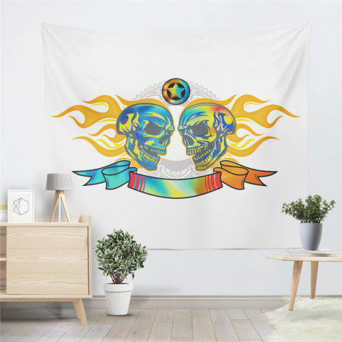 Outfits Flame Skeleton Pattern Personalized Decoration Background Tapestry GT-46