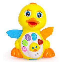 Kids Toy Musical Duck Lights Action with Adjustable Sound -