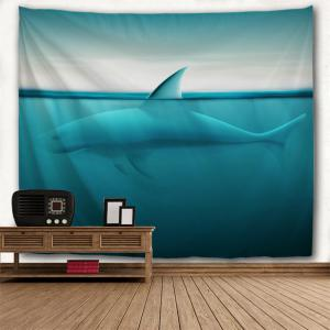 Diving Shark 3D Printing Home Wall Hanging Tapestry for Decoration -