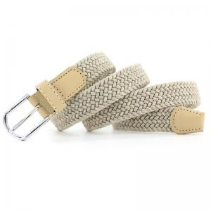 Fashion  Elastic Woven Pin Buckle Belt -