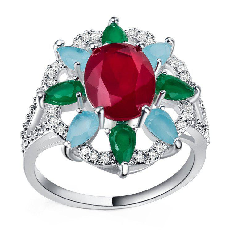 Shops Creative Sun Flower Diamond Ring