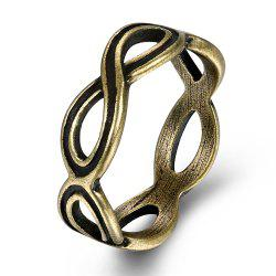 Vintage Creative Hollow Out Geometric Ring -