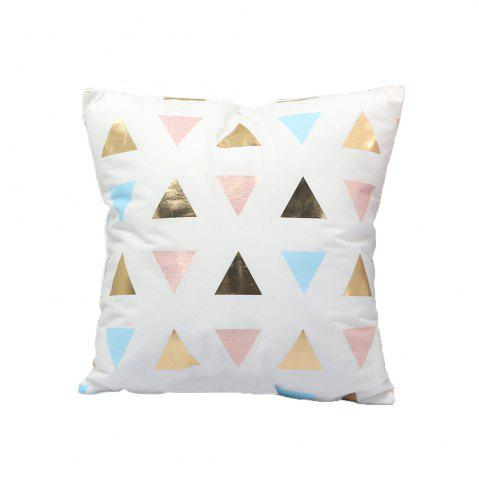 Outfits Fashion Soft Flannelette Stamping Pillow Cover