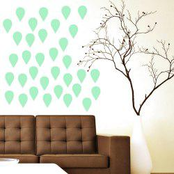 Noctilucent Engraving Adorable Raindrop Cartoon Switch Sticker Wall -