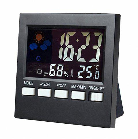 Store Multi-functional Desk Clock with Digital Weather Station  Baby Humidity Display