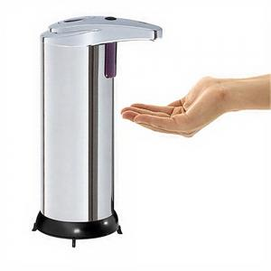 Automatic Soap Dispenser Touchless Stainless Steel Fingerprint Resistant -