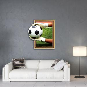 3D Goalkeeper Football Personality Creative Removable Wall Sticker -